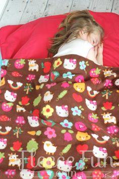Child's Sleeping Bag / Backpack Sewing Tutorial - by Angel Dawn