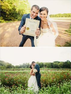 just married  #tennesseewedding #weddingchicks http://www.weddingchicks.com/2013/12/27/family-affair-wedding/