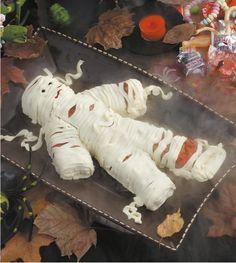 Yummy Mummy Cheese Spread - Halloween Recipe