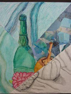 The Calvert Canvas: Adventures in Middle School Art!: 7th Grade multi media still life