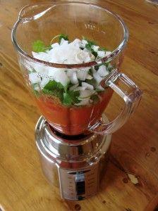 Simply Salsa Recipe {so easy!}