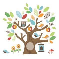 friends, nurseries, wall decals, tree designs, owl, kid rooms