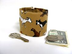 Money Cuff  for Kids hide lunch money house key by bluepiedesigns, $10.00
