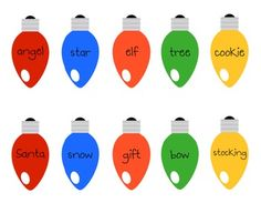 Christmas Light Alphabetical Order $