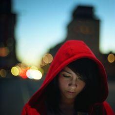 Red hoodie #gorillapodlove