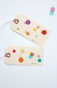paper tags are so easy to decorate for any occassion! party, wedding favors, Valentine's Day