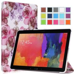 Moko Samsung Galaxy Note PRO & Tab PRO 12.2 Case - Ultra Slim Lightweight Smart-shell Stand Case for Galaxy NotePRO & TabPRO 12.2 Android Tablet, Flower PURPLE (With Smart Cover Auto Wake / Sleep) MoKo http://www.amazon.com/dp/B00HXS6B4Q/ref=cm_sw_r_pi_dp_GkIiub1X5E2HF