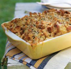 Ultimate BBQ Sides: Three-Cheese Macaroni & Cheese threechees macaroni, american bbq food, comfort foods