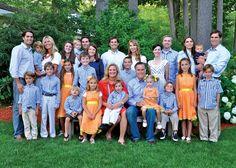 THE BEAUTIFUL ROMNEY FAMILY!