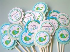 Cute cupcake picks