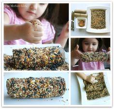 Cute Bird Feeder Your Kids Can Make