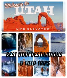 Utah destinations  Field trips