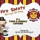 This pack is full of various math and literacy centers to use during Fire Safety Week. These centers are geared to different levels of students in ...