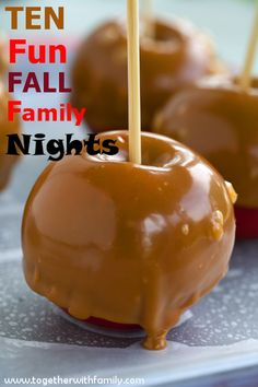 I have put together a great list of fall family nights that we have enjoyed over the years!