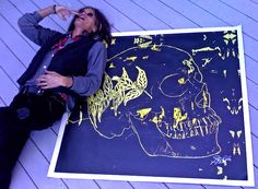 10 Celebrities You Didn't Know Were Artists: Steven Tyler