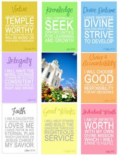 LDS - Young Women on Pinterest