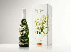 """Perrier-Jouët unveils """"Belle Epoque Florale Edition by Makoto Azuma"""" in Japan, the first designed Limited Edition of Belle Epoque since Emile Gallé in 1902.    The launch, held in Tokyo last week, marked a historical event for the company and fortified its ties to one of the thirstiest markets in the world for luxury goods.  Available September 2012 for $365.00"""