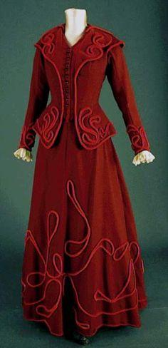 3 piece suit (Front) Ca 1890