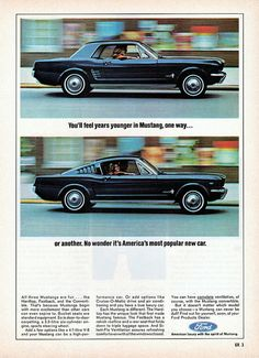 1966 Ford Mustang Hardtop & Fastback