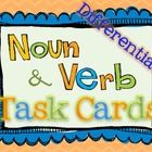 *60* Task Cards to use with your Common Core Noun and Verb unit!  There are three sets (20 each) of task cards at different levels.