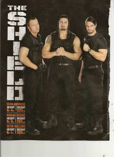 the shield wwe photos | WWE Kids Magazine - The Shield (WWE) Photo (33548290) - Fanpop ...