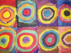 we heart art: Kinder Kandinskys