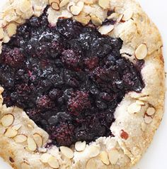 A Mixed Berry Crostata is nothing more than a free-form pie. No pie tin necessary! This version's got blueberries and blackberries in it, but feel free to try it with strawberries or raspberries too. mix berri, berri crostata, pie