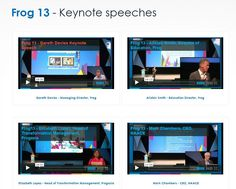 Frog 13 - Keynote speeches
