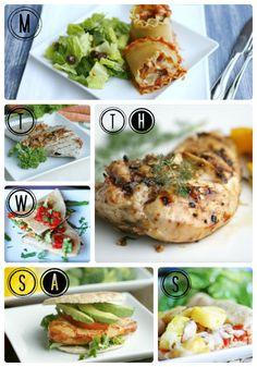 healthy meals, healthy dinners, weight loss, weekly meal planner, week meal, healthy foods, healthi week, free healthi, weekly meals