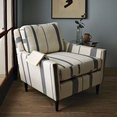 Everett Striped Chair | west elm. $509