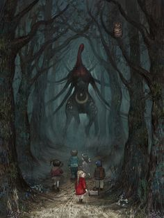 Within the woods: Gothic art