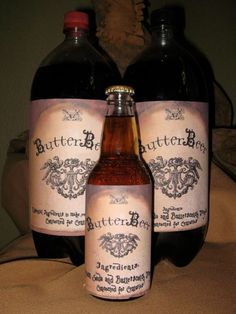 Harry Potter party - butterBeer
