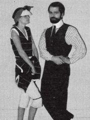 1976 - Karl Lagerfeld in Zitmagazin