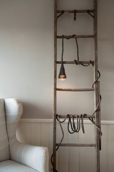 fun way to use an old ladder