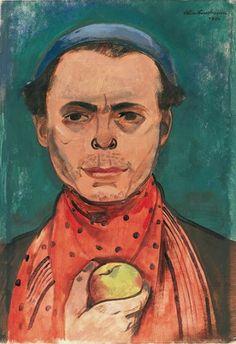 felix nussbaum | FELIX NUSSBAUM AUTOPORTRAITS - Moïcani-L'Odéonie paint portrait, art selfportrait, nussbaum autoportrait, portrait men, felix nussbaum