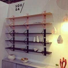 great shelves ICFF 2014 #ICFF