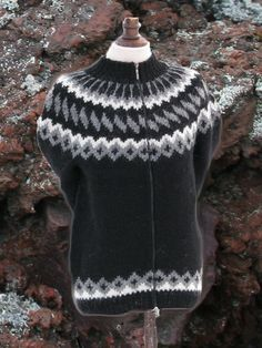 #lopapeysa #icelandic #wool #sweater #lava from #volcano traditional #knitting pattern