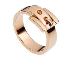#MichaelKors #Rose #gold #Buckle #Ring #cartier #putaringonit #designer #consigner #belt $58