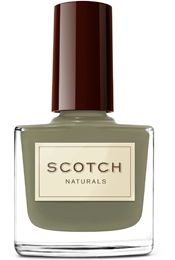 Water-based nail polish in a lovely verdant green?  What's not to love!  Scotch Naturals WaterColors -CeaseFire (khaki/dark olive green creme) ...scotchnaturals.com Scotch Nature, Natural Nails, Nail Polish, Nailpolish,  Essence, Perfume, Nature Nails Polish, Beauty, Products