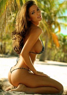 best view beach babe