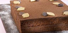 Bolo de Chocolate com Creme de Café