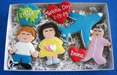 Gotcha Day Cookie Set with Airplane by CCC Gifts, via Flickr
