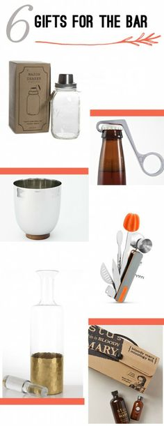 6 Gifts for the Home Bartender | Thoughtfully Simple