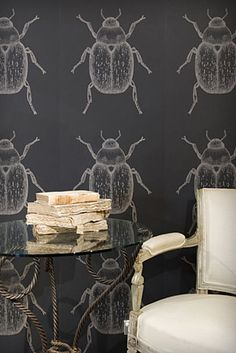 Wallpaper | Porters - Beetle - Black