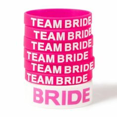 Bachelorette Party Bracelets Set of 7