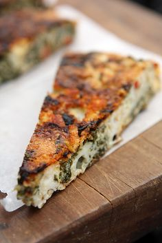 Healthy Kale Frittata recipe