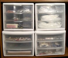 Storing and organizing jewelry supplies - Rena Klingenberg