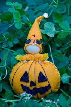 Sew your own Pumpkin Fairy with this craft kit by forestfairycrafts on Etsy