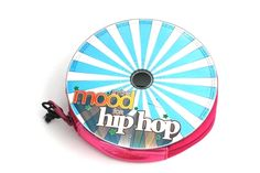 Recycled CD purse with zipper!