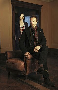 There's another Sherlock Holmes interpretation coming to our televisions, but this time Holmes' (Jonny Lee Miller) trusty sidekick, Watson, is actually being played by a woman (Lucy Liu).  Take a look at a photo of the new drama, ELEMENTARY, a description from CBS and hopefully we'll have some video clips for you soon!